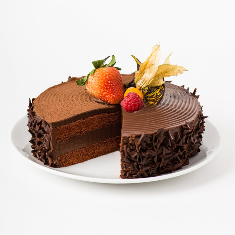 Royal Chocolate Cake Images : Royal Chocolate Fudge - Polar Puffs & Cakes Online